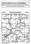 Map Image 003, Wabasha County 1994 Published by Farm and Home Publishers, LTD